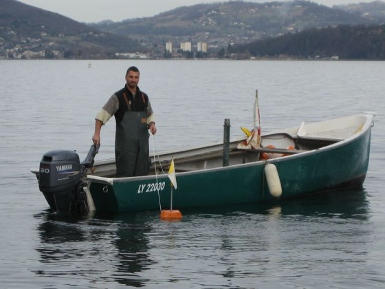 Olivier Parpillon, pêcheur professionnel